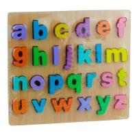 Игрушка деревянная развивающая сортер английский алфавит 9-665 (2228)