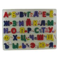 Игрушка деревянная развивающая сортер русский алфавит 9-666 (2228)