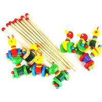 Игрушка деревянная каталка животные 9-673 (2228)