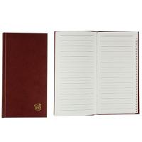 Книга алфавитная А6 80л линия обл. 100*190  210 05Р