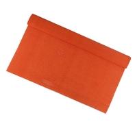Гофрированная бумага темно-оранжевая 110% 3-233 (22224)