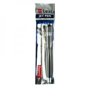 Ручка шариковая черная 0,7мм LEXI Jet Pen 05463-LX
