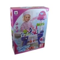 Набор доктора розовая коробка W-045   7-22