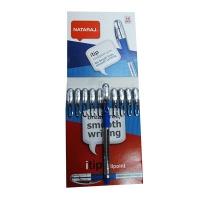 Ручка шариковая синяя 0,7мм Nataraj Itip Fine 10шт в уп 206526107