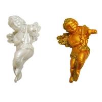 Новогодняя игрушка Ангел пластик
