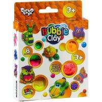 Тесто для лепки Bubble Clay 8 цветов укр BBC-04-01U