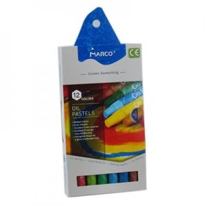 Пастель масляная 12цв Colorite MARCO 4800OP-12СВ