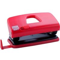 Дырокол 10л пластиковый красный ВМ.4007-05