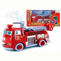 Машина пожарная музыка,мыло 4355