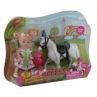 Кукла с лошадкой 8390