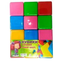 Кубики большие 12шт M.toys 14067