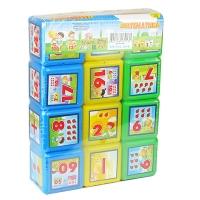 Кубики математика 12шт М.toys 09052