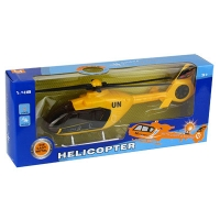 Вертолет на батарейках в кор. 25,5*4,5*10см  MK1009S