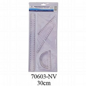 Набор линеек 4 предмета 30см Navigator 70603-NV, 70606-NV