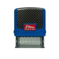 Оснастка для штампов 14*38мм синяя  S-852-TR-002