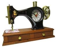 """Часы-будильник """"Швейная машинка """"большая U-230"""