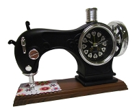 """Часы-будильник """"Швейная машинка"""" маленькая U-231"""