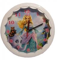 """Часы настенные """"Барби""""  U-234"""