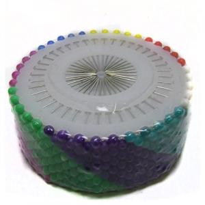 Булавки цветные металик 480шт 4см цена за упак 8-242-1;6-211 (24806)