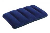 Подушка надувная синяя 43*28*9см в кор Intex 68672