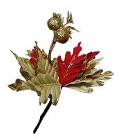 Новогодние украшения Цветок 22*47см 91100-PN