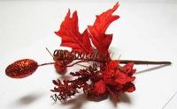 Новогодние украшения Цветок 10см 91188-PN