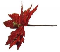 Новогодние украшения Цветок 17см 91106-PN