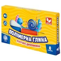 Полимерная глина 6цв Шк 83911901-UA