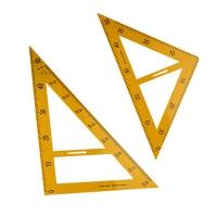 Набор треугольгольников 2шт пластик 3-290 (23880)