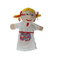 Мягкая игрушка рукавичка Внучка 00607