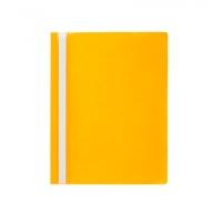 Скоросшиватель А4 Economix Light без перфорации фактура апельсин желтая Е38503-05