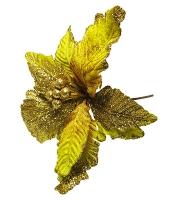 Новогодние украшения Цветок 24см 91024-PN