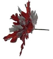 Новогодние украшения Цветок 23см 91097-PN