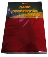 Гофрированная бумага А4 10цветов 10л TIKI 50913-TK