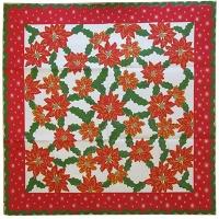 Рождественская скатерть 85*85см ткань  5-50 (6326)