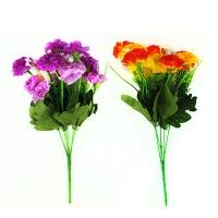 Цветы искусственные Букет гвоздик 1-295 10-129 (0113)