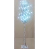 Дерево белое 160см светодиодное 5-248 (6366)