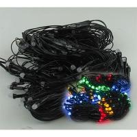 Гирлянда электрическая цветная сетка 200л LED 5-251 (6366)