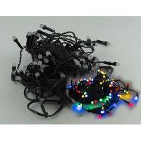 Гирлянда электрическая цветная шторка 100л LED 5-262 (6366)