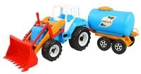 Трактор  с прицепом молоковоз 051 Орион