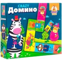 Игра настольная Crazy Домино рус VT8055-04