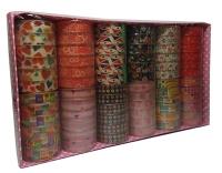 Скотч декоративный прозрачный цена за 6шт 8-227