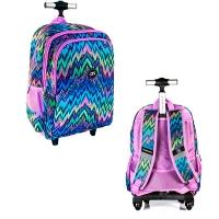 Рюкзак школьный 16 на колесах Trolley CF86522