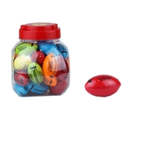 Точилка пластик 30шт в банке с контейнером 52642-TK