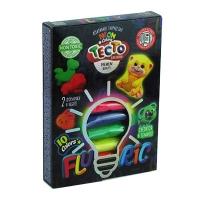 Тесто для лепки Fluoric 10цв рус TMD-FL-10-01,02,03,04