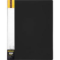 Папка А4 с 60 файлами Format черная F37606-01
