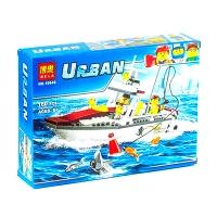 Конструктор Bela Urban Рыболовный катер 160 эл  10646