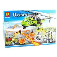 Конструктор Bela Urban Грузовой вертолёт 348 эл.10640