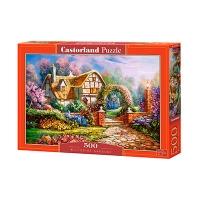 Пазлы Castorland дом в цветах 500 эл В-53032