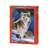 Пазлы Castorland 1000 эл Волк  С-104062
